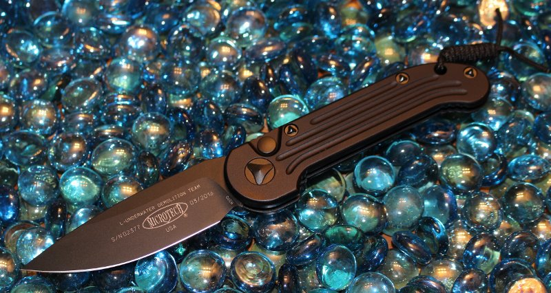 SOLD Microtech LUDT Tactical Standard <p> 135-1T