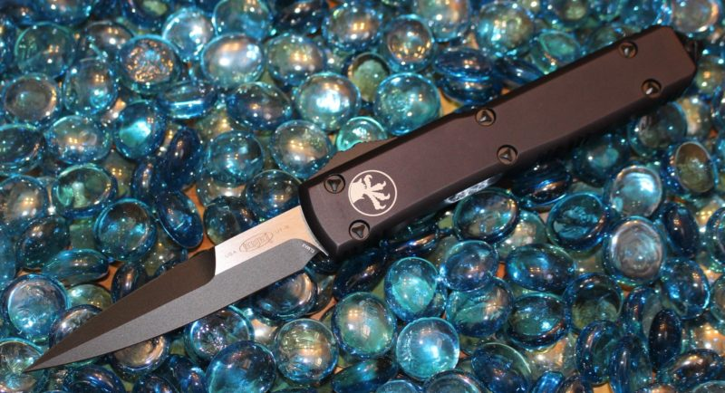SOLD Microtech Ultratech Contour B/E Tactical Standard <p> 120-1T