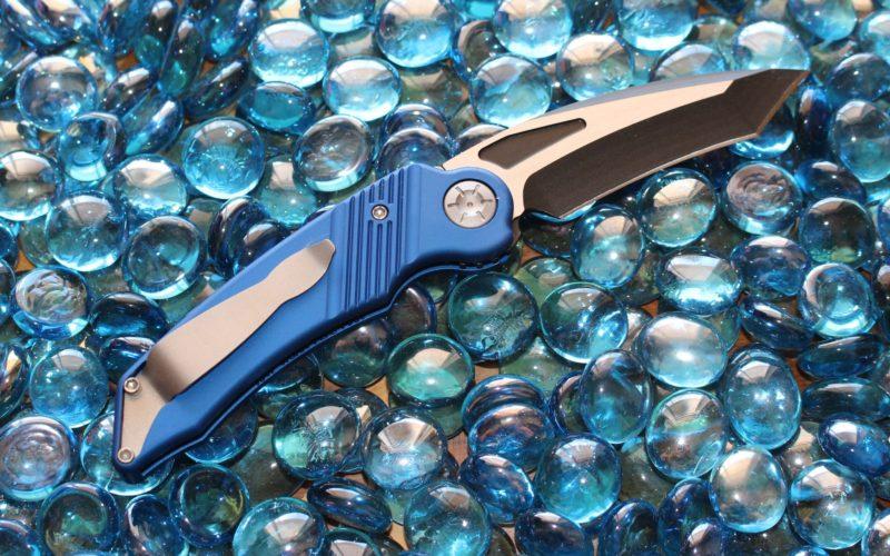 Ratworx Mini MRX Blue Reverse Edge Two-Tone Black