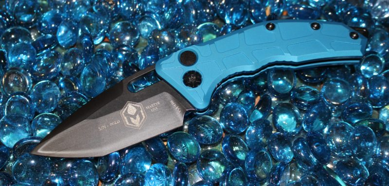 Heretic Martyr Auto Blue DLC SE Copper Strap <p>H011-6A-BL