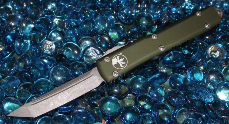 Microtech Ultratech OD Green T/E Apocalyptic Standard <p> 123-10APOD