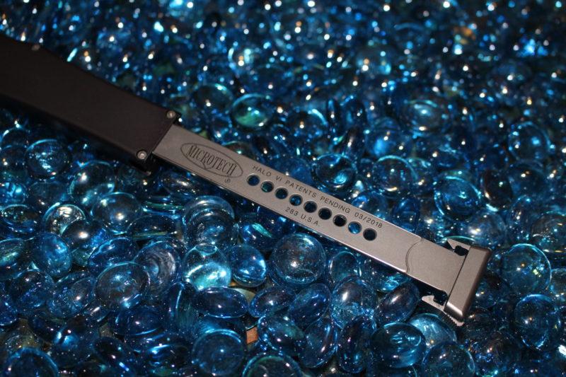 Microtech Halo VI S/E Stonewash Standard <p> 151-10
