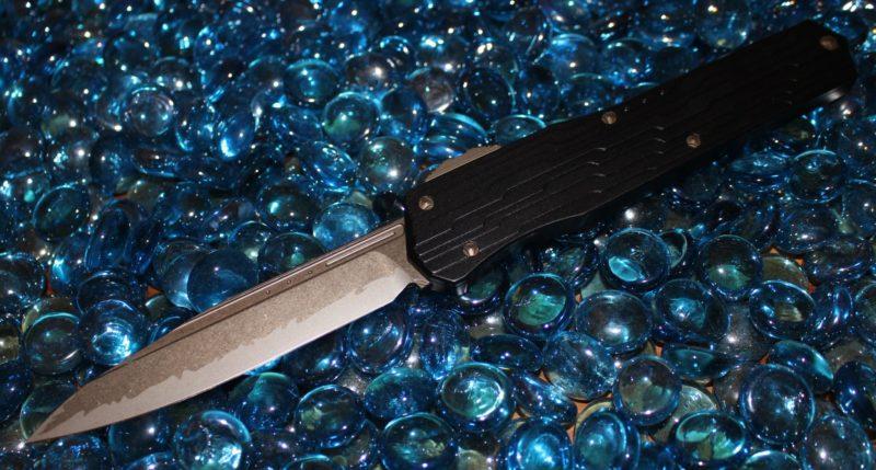 Microtech Cypher Katana, Bronze S/E Standard <p>241-13KA