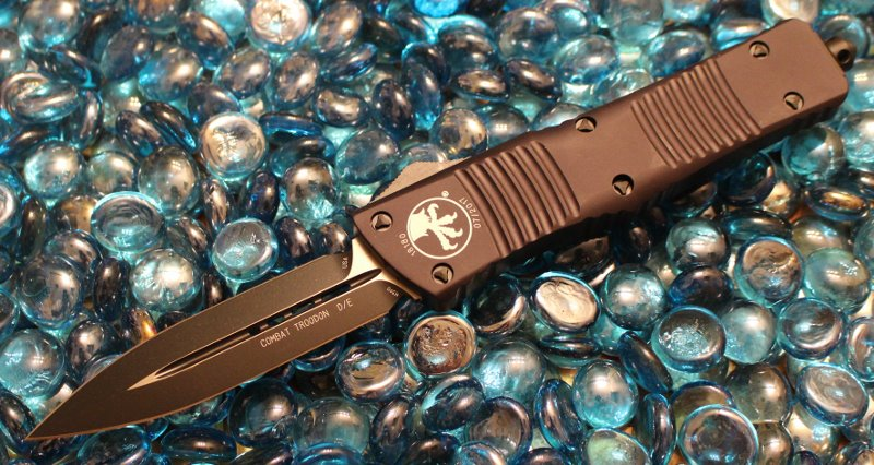 Microtech Combat Troodon D/E Tactical Standard<p> 142-1T