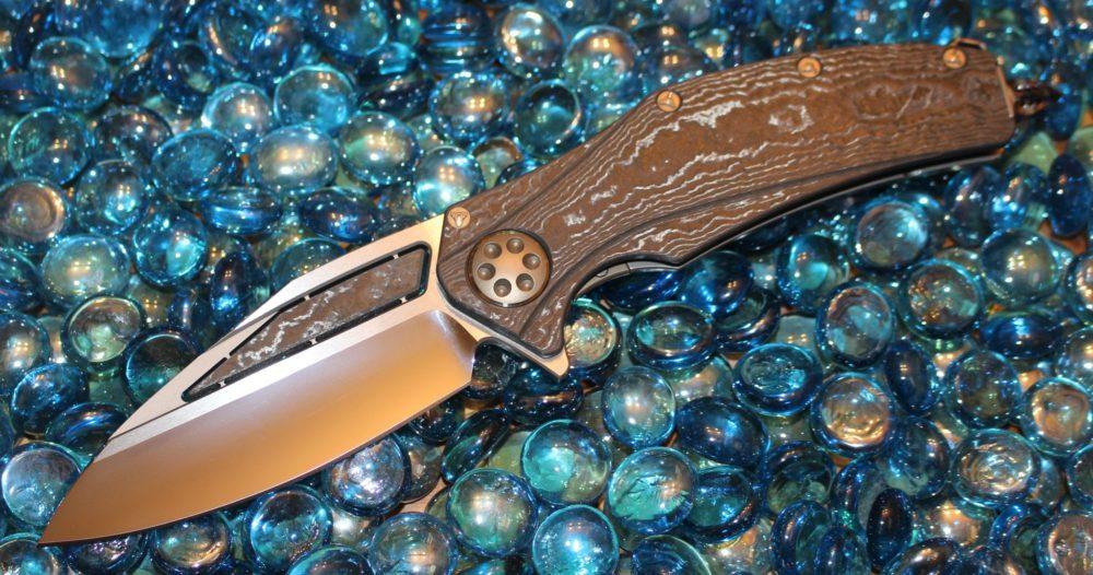 Marfione Matrix Carboquartz w/ Vapor Blast Ti Chassis & Mirror Polish Blade<p> Matrix009