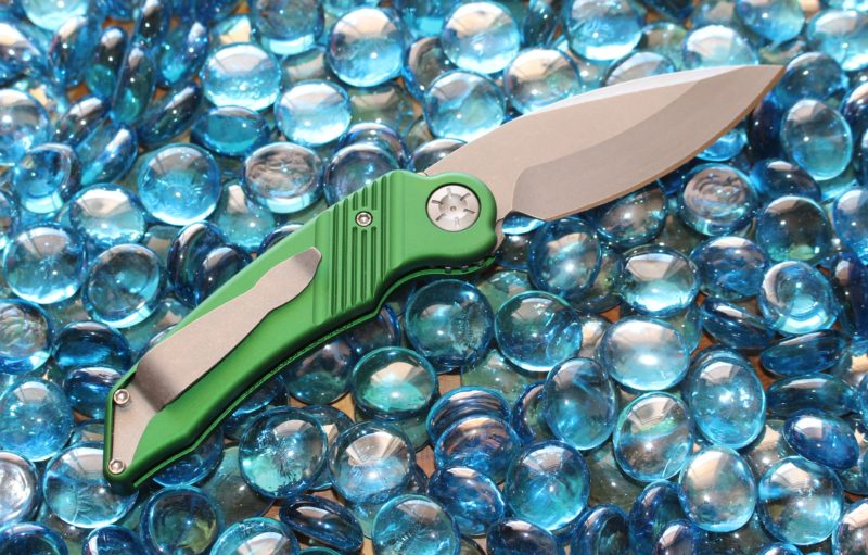 Ratworx Mini MRX Green Single Edge Stonewash