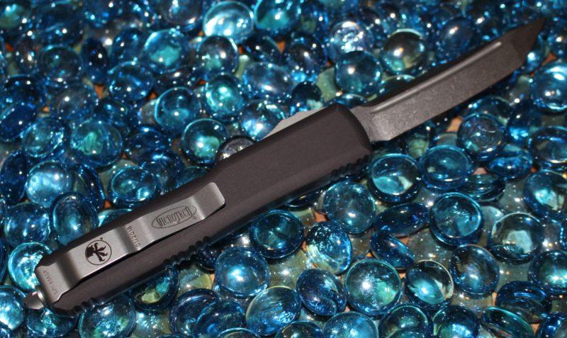 Microtech Ultratech Clear Top T/E Stonewash Standard<p> 123-10CL
