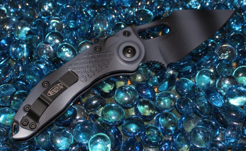 Microtech Stitch Urban Camo Standard M390 <p> 169-1UC