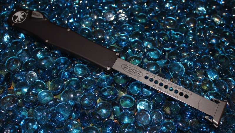 Microtech Halo VI T/E Satin Standard<p> 250-4