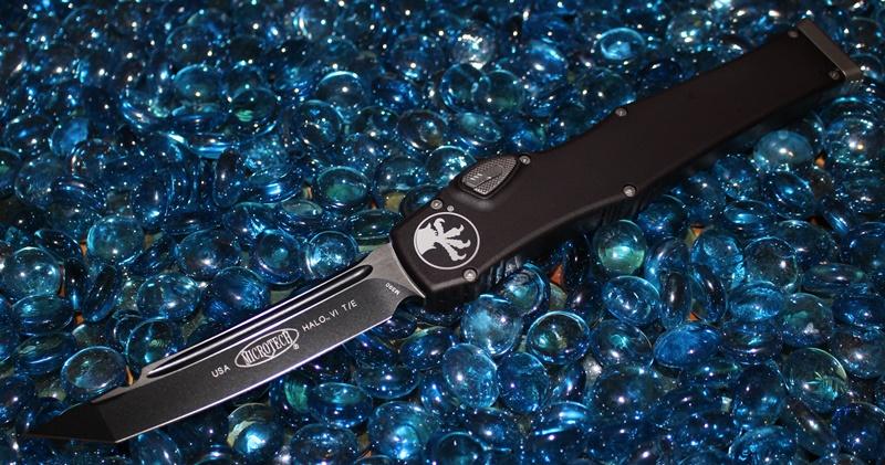 Microtech Halo VI T/E Black Standard<p>250-1
