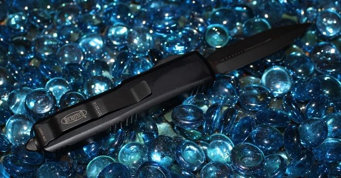 Microtech UTX-85 D/E Black Standard 232-1T