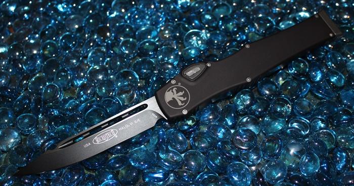 Microtech Halo VI S/E Black Standard 251-1