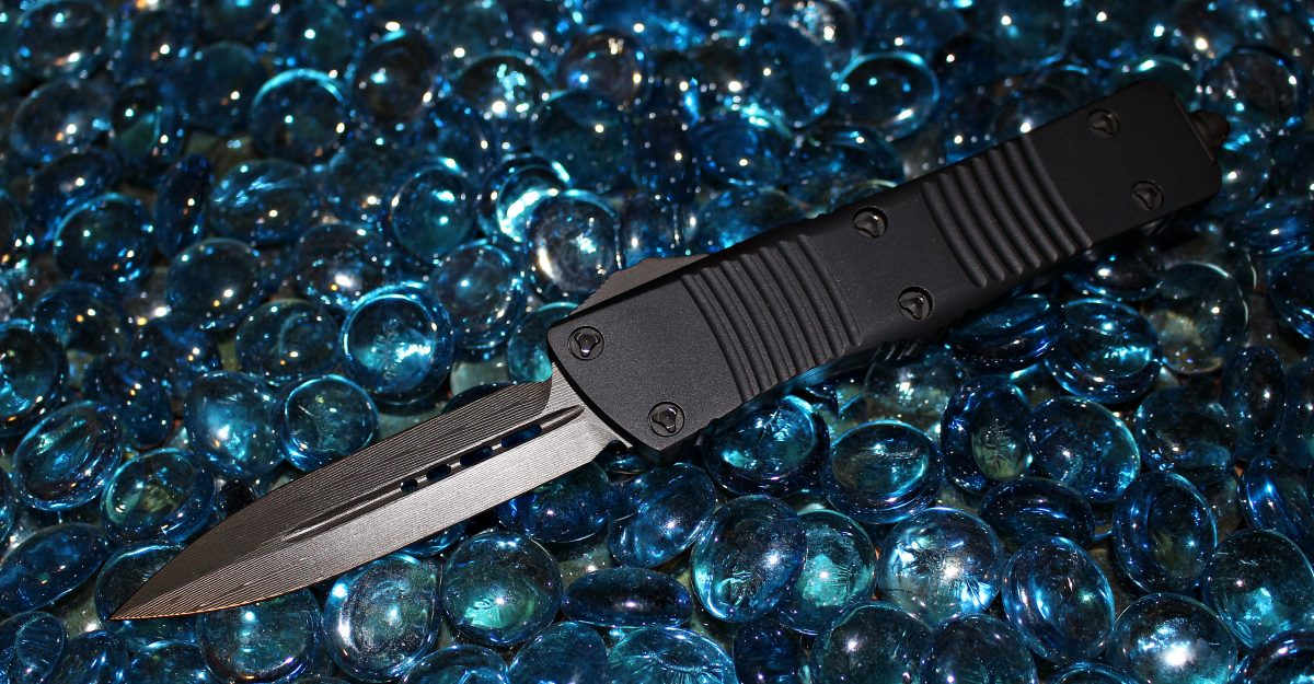 Microtech Troodon D/E Damascus Standard 138-16
