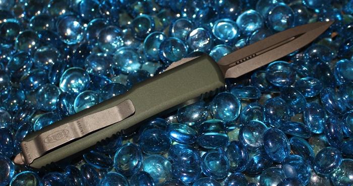 Microtech Ultratech OD Green D/E Bronze Standard 122-13OD