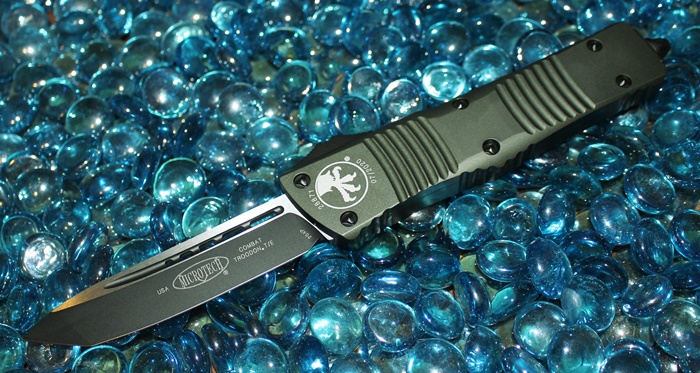 Microtech Combat Troodon OD Green T/E Black Standard 144-1OD